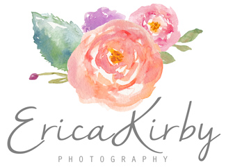 Erica Kirby Photography | Southern New Hampshire Massachusetts Newborn Photographer | Weddings | Engagements | Baby | Manchester NH | Bedford NH | Portsmouth NH | Boston MA | New England logo