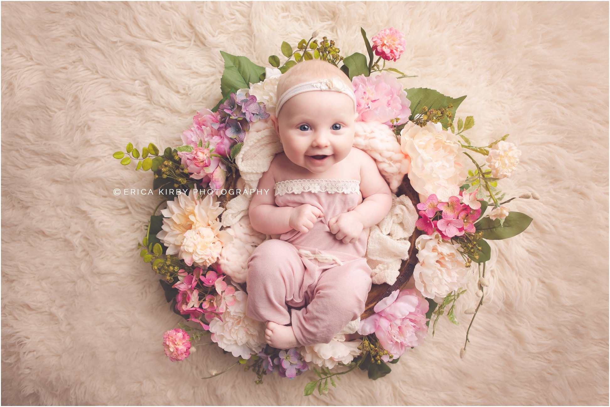 Northwest arkansas baby photographer 3 months old