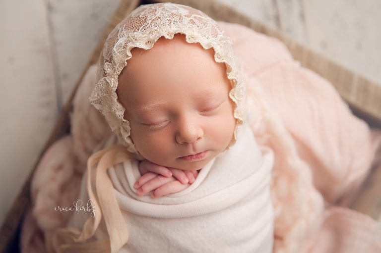 Newborn Baby Girl Photography Session NWA - Erica Kirby Photography bentonville rogers fayetteville northwest arkansas